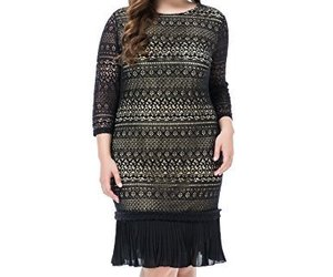 cute 60s dresses, full figure dress, and plus size dresses cheap image