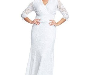 dresses for wedding, dresses formal, and curvy prom dress image