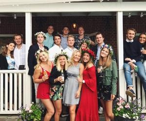 sweden, midsommar, and friends image