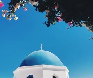 Dream, grecia, and blue sky image