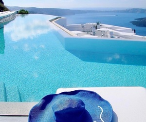 Greece, paradise, and pool image