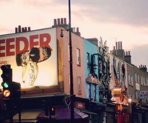 camden lock, london, and camden town image