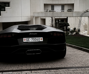 black, cars, and Lamborghini image