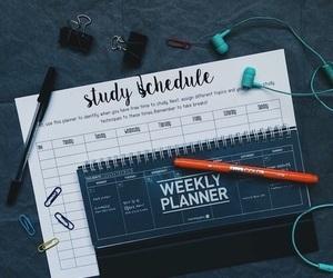 study, plan, and school image