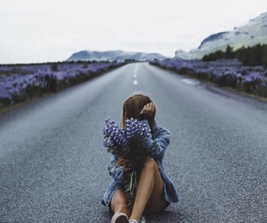 fashion, flowers, and inspiration image