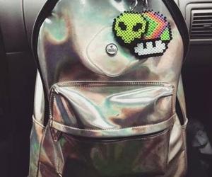 alien, grunge, and bag image