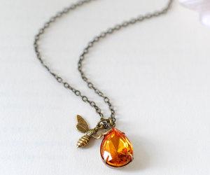 etsy, spring jewelry, and november birthstone image