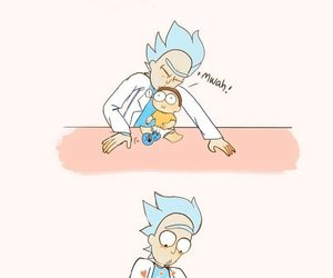 comic, cute, and rick and morty image