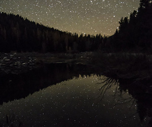stars, night, and indie image