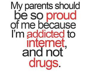 funny, drugs, and internet image