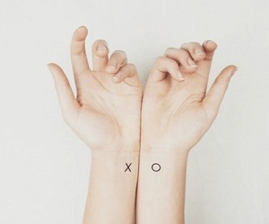 tattoo, xo, and tatoo image