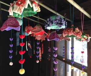 handmade, japan, and wind chime image