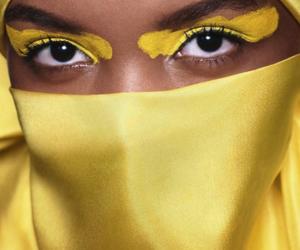 eye mask, supermodel, and gorgeous image