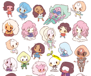 steven universe and chibi image