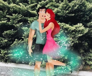 ariel, disney, and erik image