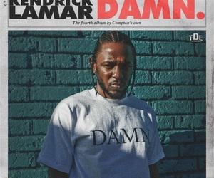 damn, kendrick lamar, and album image
