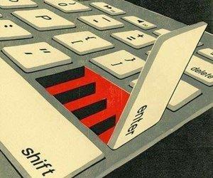 enter and keyboard image