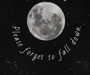 wallpaper, moon, and panic! at the disco image