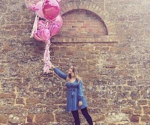 pink balloon, youtube, and british image