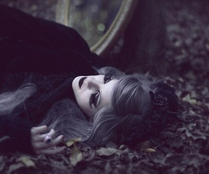 dark, photography, and gothic image