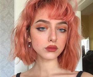 icon, blue eyes, and girl image