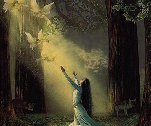eclectic, fantasy, and goddess image