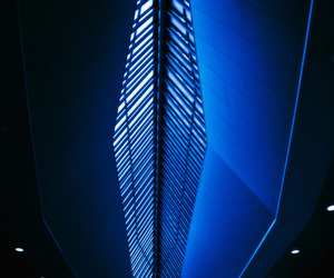 architecture, blue, and airport terminal image