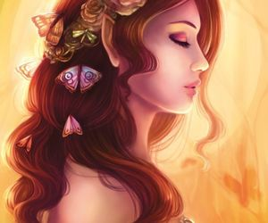 eclectic, fae, and goddess image