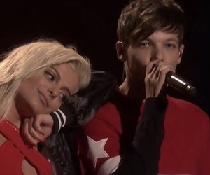 bebe rexha, back to you, and louis tomlinson image