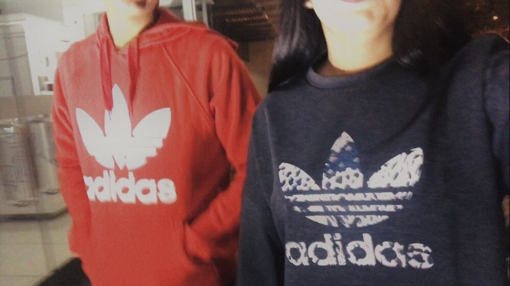 adidas, bff, and brother image