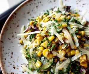 basil, cheese, and corn image