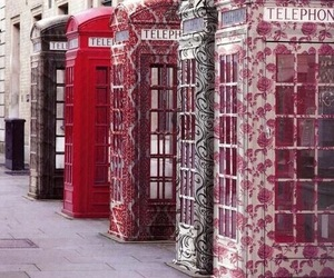 telephone, london, and england image