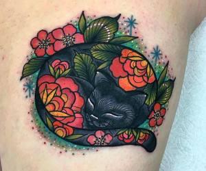 beautiful, tattoo, and body art image