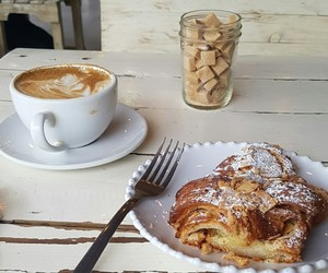 bakery, coffee, and sugar image