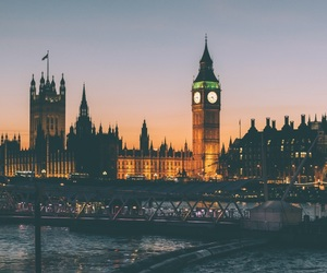 Big Ben, london, and city image