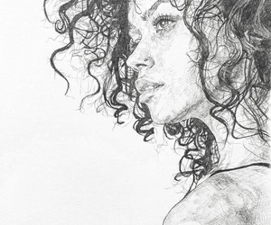 art, beauty, and sketching image
