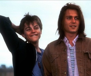 johnny depp, leonardo dicaprio, and young image