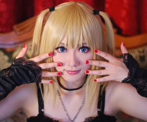 cosplay, death note, and misa amane image