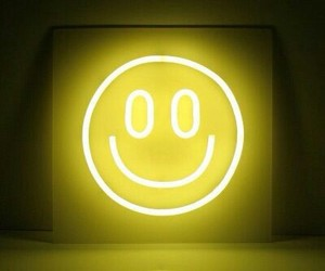 yellow, smile, and light image