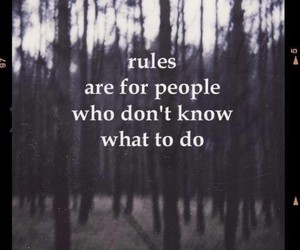 rules, people, and quote image