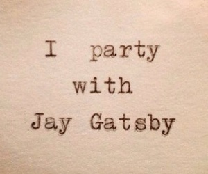 frases, gatsby, and party image