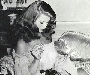rita hayworth and vintage image
