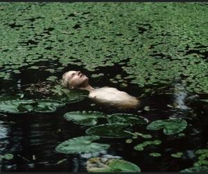 boy, green, and lake image