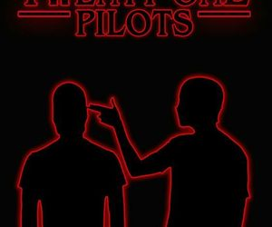 stranger things and twenty one pilots image