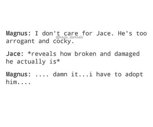 jace wayland, magnus bane, and shadowhunters image