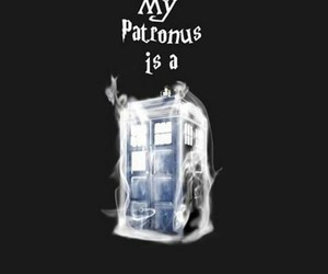 tardis, doctor who, and harry potter image
