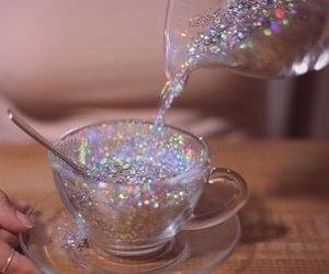 glitter, alternative, and drink image