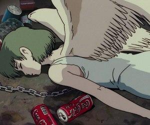 angel, anime, and sad image