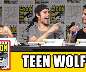 teen wolf, holland roden, and comic con 2016 image
