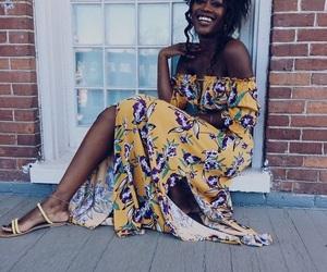 fashion, melanin, and nappy image